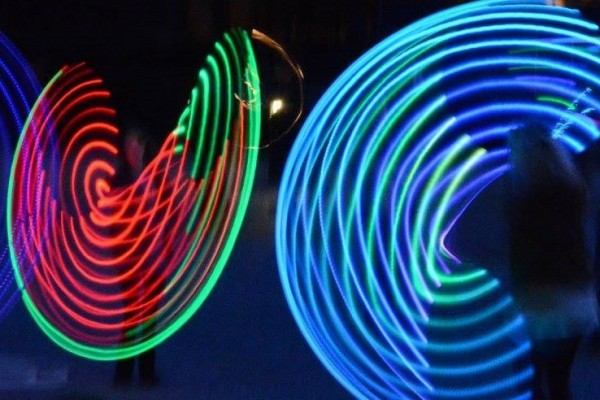 Mangledwire LED hooping front